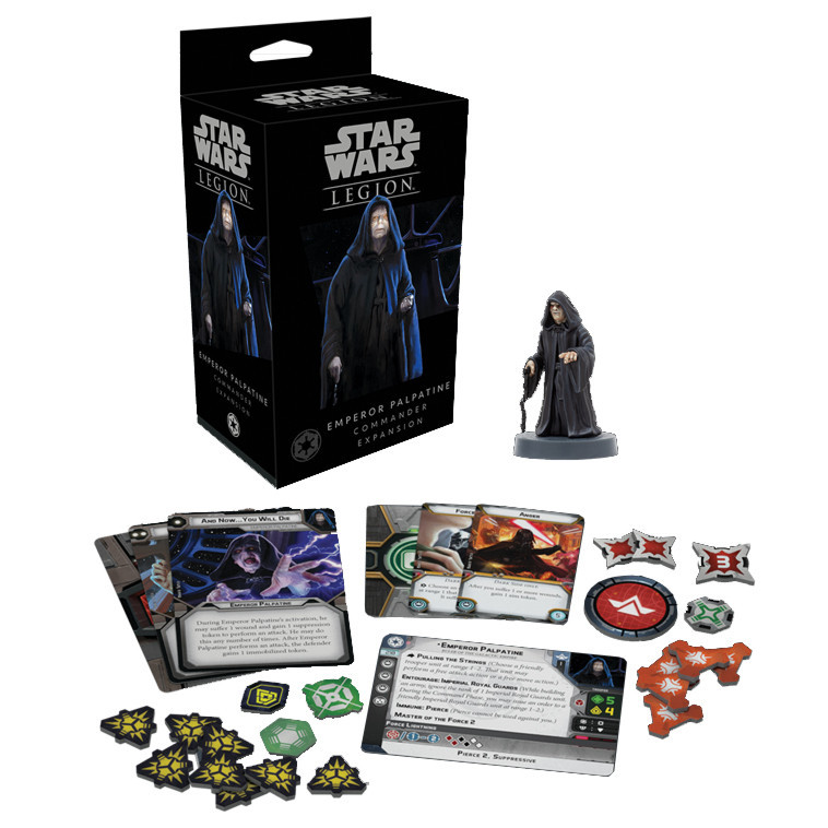 Star Wars: Legion Commander Expansion - Emperor Palpatine image