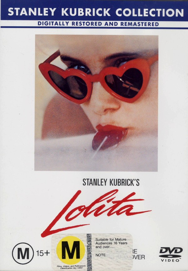 Lolita on DVD image