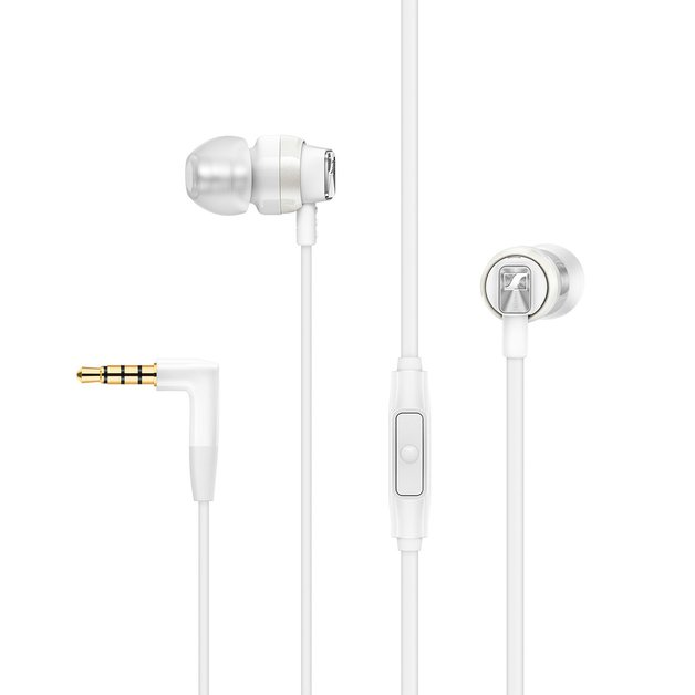 Sennheiser CX 300S Wired In-Ear Headphones with Mic - White