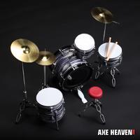 Axe Heaven: Miniature Replica - Ringo Starr Drum Set (Classic Oyster) image
