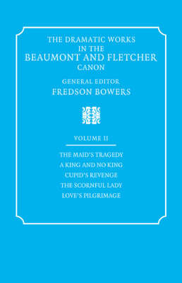 The The Dramatic Works in the Beaumont and Fletcher Canon: v. 2 by Francis Beaumont image