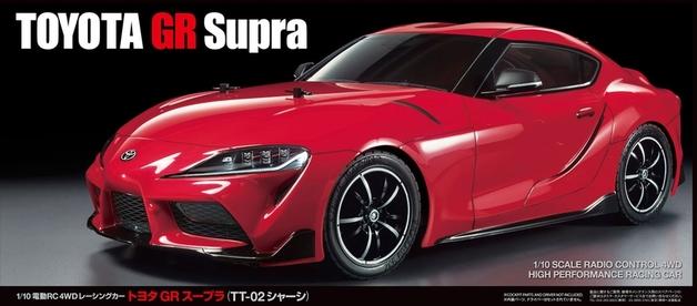 Tamiya: 1/10 R/C Toyota GT Supra Gr J29 (TT-02)