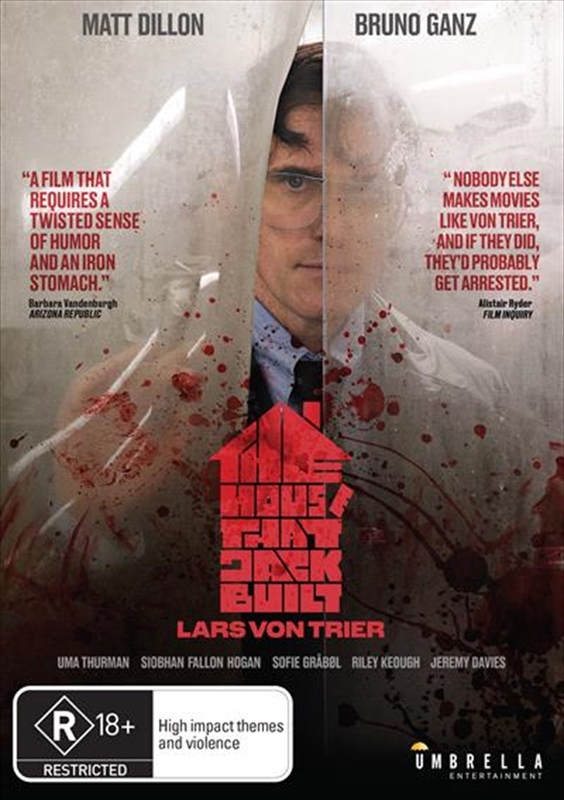The House That Jack Built on DVD