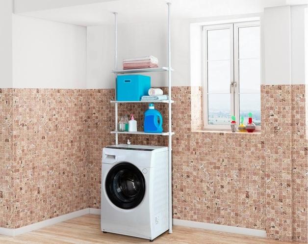 Ovela: Adjustable Telescopic Laundry Shelf
