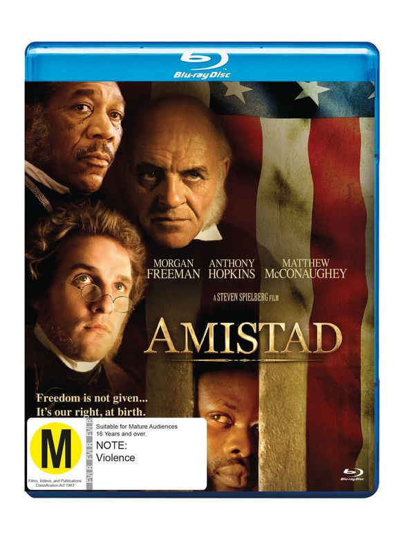 Amistad on Blu-ray