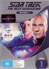 Star Trek - Next Generation: Season 1 (7 Disc Box Set) (New Packaging) on DVD