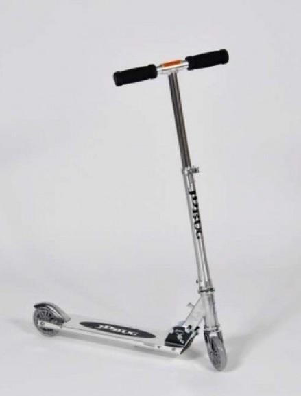 Aluminum Folding Scooter (100mm wheels) - Black