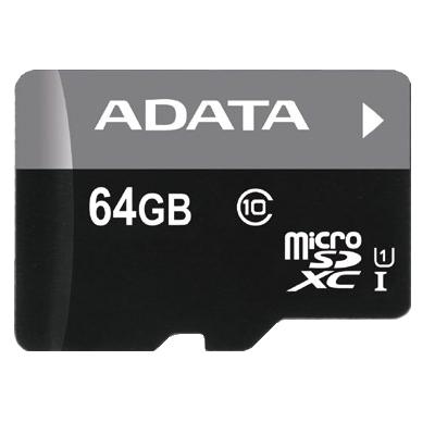 64GB ADATA Premier - MicroSDXC Card (Class 10 UHS-I) image