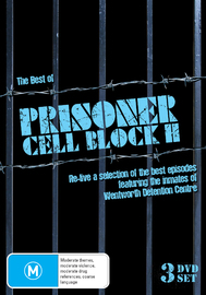 The Best of Prisoner Cell Block H on DVD