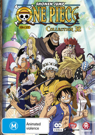 One Piece (Uncut) Collection 32 (Eps 385-396) on DVD
