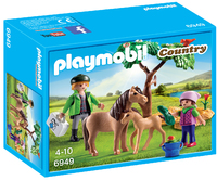 Playmobil: Vet with Pony and Foal