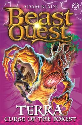 Beast Quest #35: Terra, Curse of the Forest (The World of Chaos) by Adam Blade