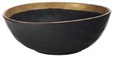 Maxwell & Williams Swank Bowl 28cm (Black/Gold)