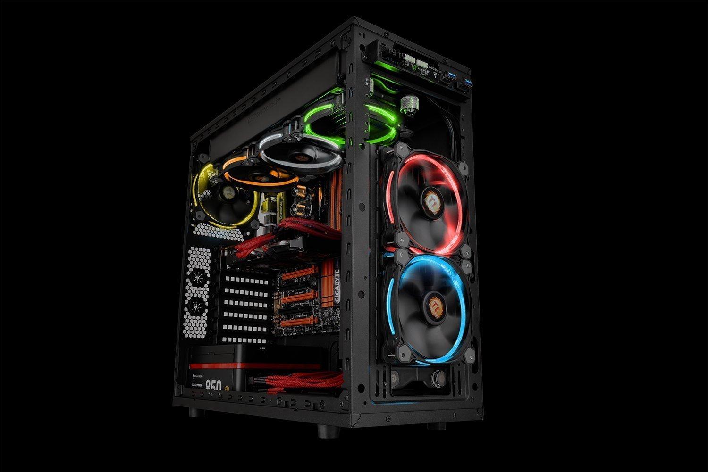 Thermaltake: Riing 14 LED RGB HS LED Radiator Fans image