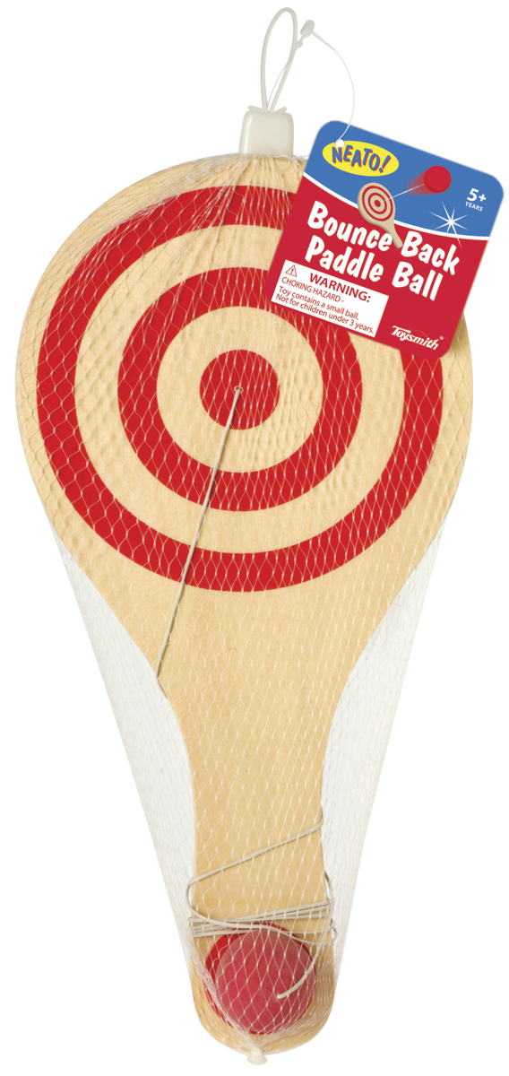 Toysmith: Bounce Back - Paddle Ball image
