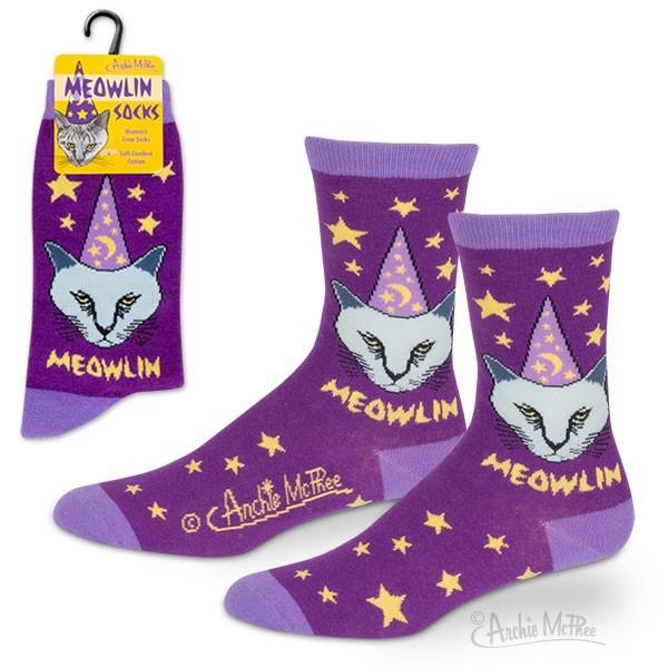 Meowlin Socks