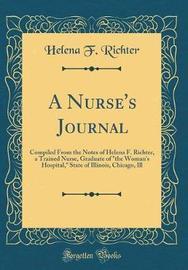 A Nurse's Journal by Helena F Richter image
