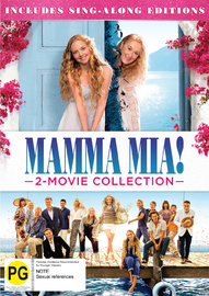 Mamma Mia & Mamma Mia: Here We Go Again! on DVD