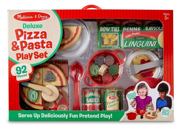 Melissa & Doug: Deluxe Pizza & Pasta Play Set