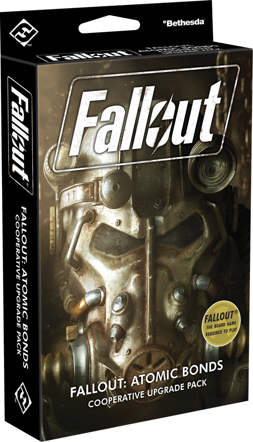 Fallout: The Board Game - Atomic Bonds Cooperative Upgrade Pack image