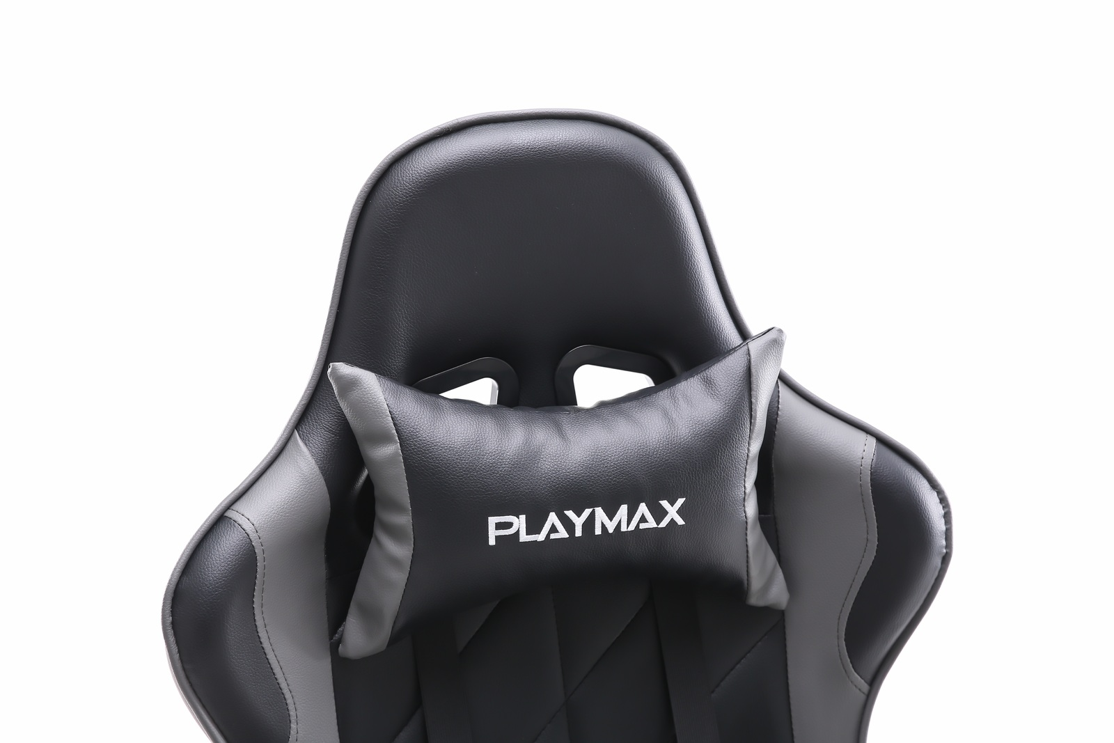 Playmax Elite Gaming Chair - Steel Grey and Black for  image