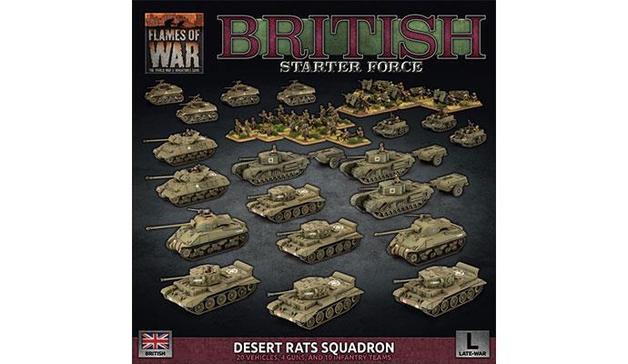 "Flames of War: ""D-Day British"" Starter Force"