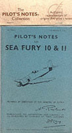 Air Ministry Pilot's Notes: Hawker Sea Fury 10 and 11 image