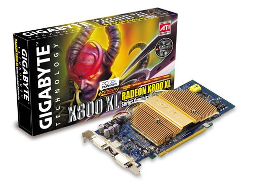 Gigabyte Graphics Card Radeon X800 XL 512M PCIE image
