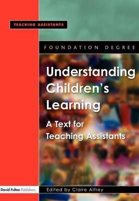 Understanding Children's Learning by Claire Alfrey