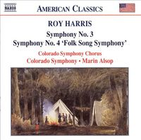 Symphonies Nos. 3 and 4 by Roy Harris