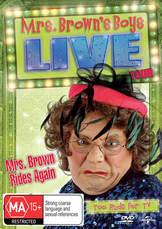 Mrs Browns' Boys Live: Mrs Brown Rides Again on DVD image