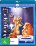 Lady and the Tramp (Diamond Edition) on Blu-ray