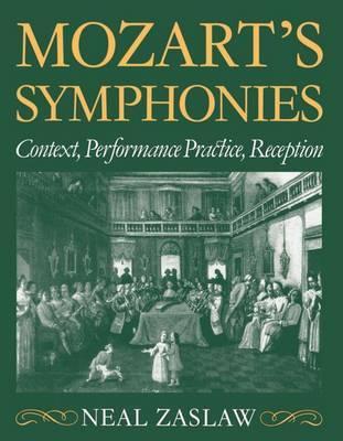 Mozart's Symphonies by Neal Zaslaw image