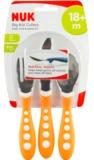 NUK: Big Kids Cutlery Set - Orange