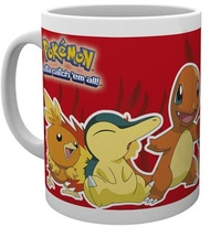 Pokemon: Fire Partners - Coffee Mug