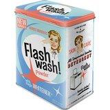 Flash Wash Retro Laundry Powder Tin (Large)
