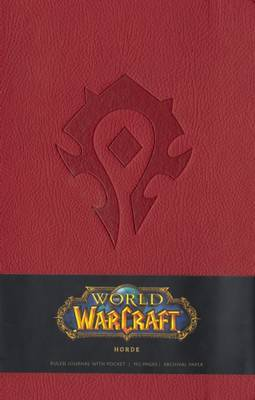 Warcraft Ruled Journal - Horde Red (Large) by Blizzard Entertainment