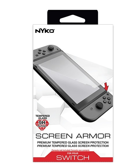 Nyko Switch Screen Armour for Nintendo Switch image