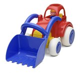 Viking Toys: Jumbo Tractor Digger - Red