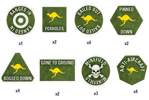 Team Yankee: Australian Token Set image