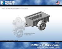 Rubicon US Jeep MB-T / T3 Military Trailer