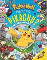 Where's Pikachu? A Search and Find Book by Pokemon image