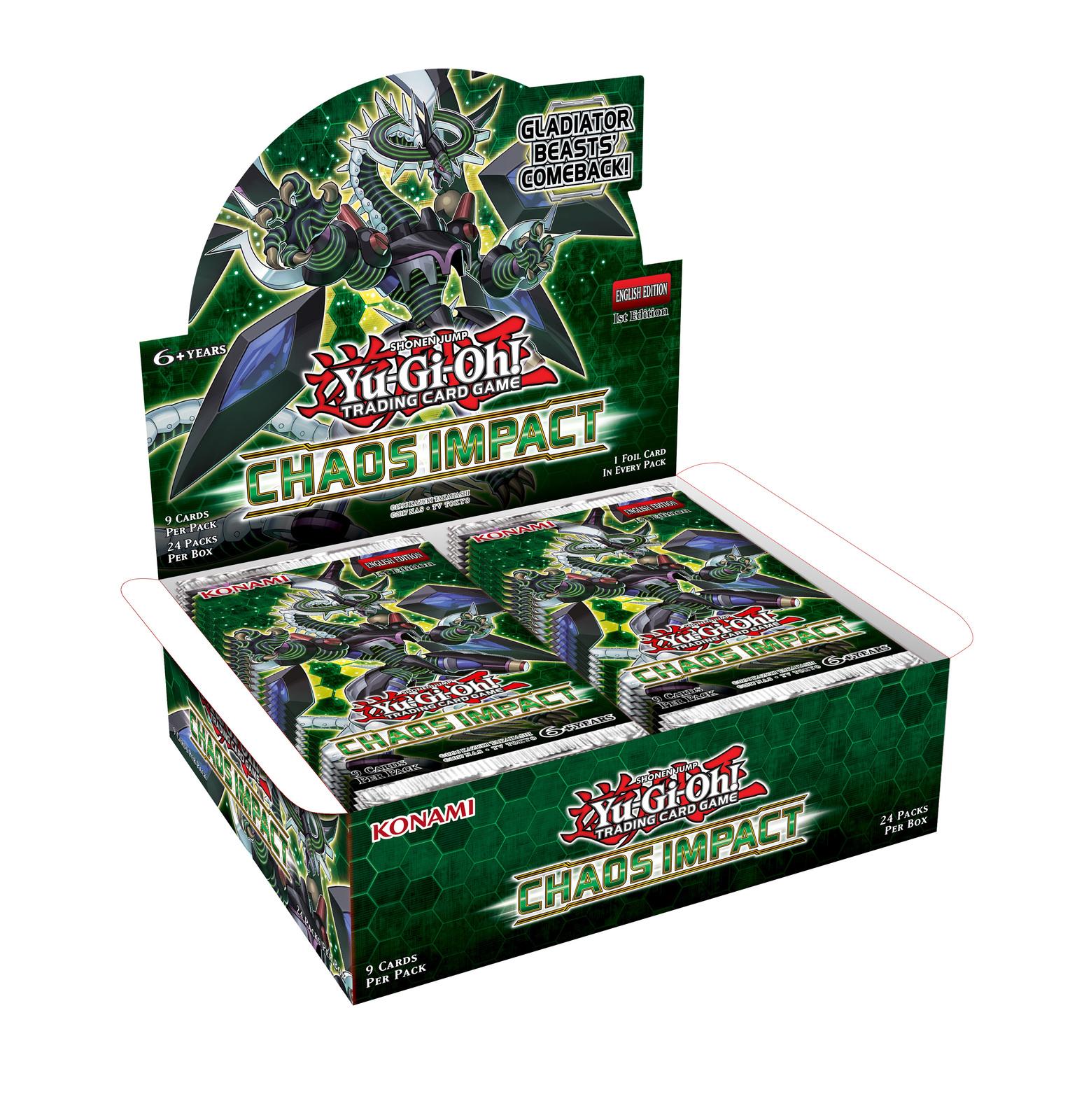 Yu-Gi-Oh! Chaos Impact Booster Box (24 Packs) image