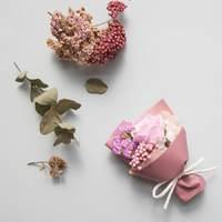 Short Story: Floral Bouquet Box - Light Purple