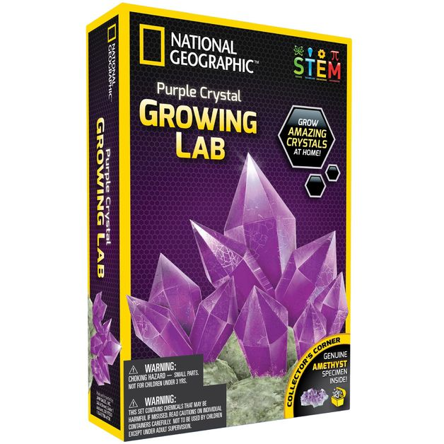 National Geographic: Amethyst Crystal Growing Lab - Purple
