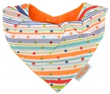 Silly Billyz Towel Bandana Bib (Sprite Orange)