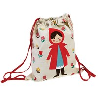 Rex Drawstring Bag (Riding Hood)