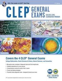 CLEP(R) General Exams Book + Online, 9th Ed. image