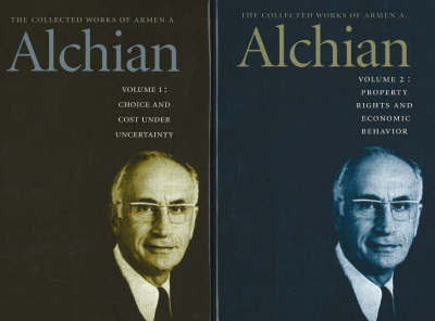 Collected Works of Armen A Alchian, 2-Volume Set by Armen A. Alchian image