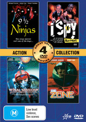 Action Collection (9 1/2 Ninjas, Final Mision, I Spy Returns, The Zone) (2 Disc) on DVD